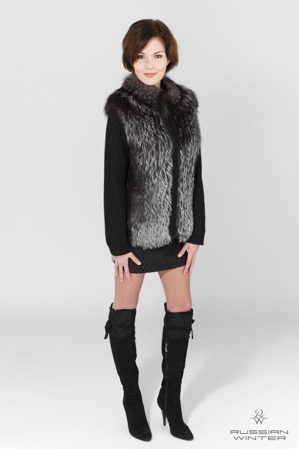 Женская меховая одежда