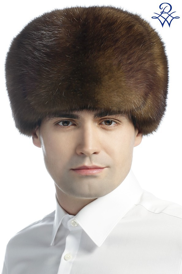 Головной убор меховой мужской шапка ушанка соболь натуральный ... f37c82863a363