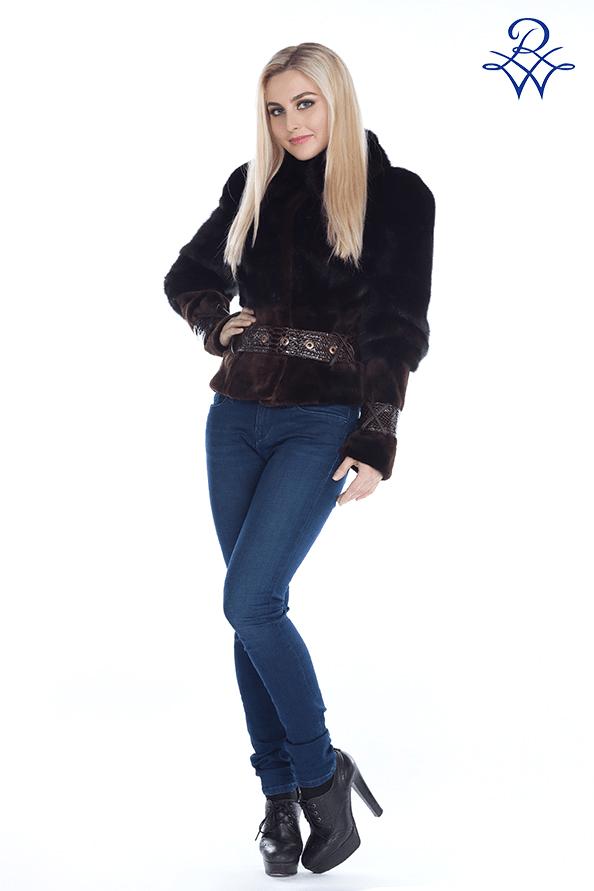 Куртка меховая женская 173